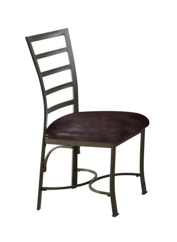 ACME 70098 Daisy Side Chair, Chocolate PU, Set of 2 Review