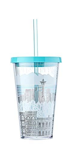 해외 한정 스타벅스 콜드 컵 텀블러 스타벅스 Starbucks Seattle Mint Cold Cup Tumbler 473ml