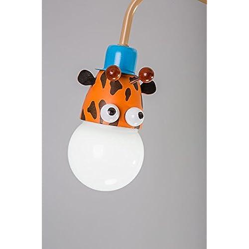 Adorent Les Motif Chambre Enfants Suspension GirafeZèbre Lampe uOkiPXZ