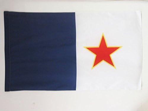 AZ FLAG Bandera de Quebec INDEPENDENTISTA FLQ 150x90cm para Palo ...