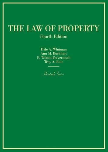 The Law of Property (Hornbooks)