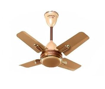 Orient Quasar Ornamental 600 mm 24-inch 70-Watt Premium Ceiling Fan (Golden Chocolate)
