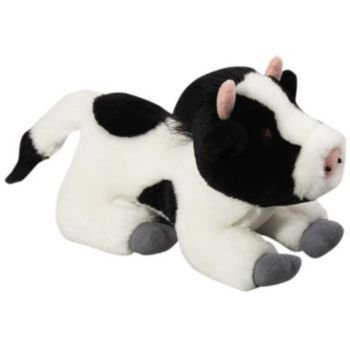 MultiPet Look Who is Talking Cow Plush 7""