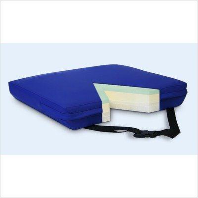 Apex Core Coccyx Gel-Foam Cushion in Royal Blue Size: 3''H x 22'' W x 16'' D