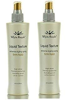 White Sands Liquid Texture Firm Hold 255ml (Set of 2) (White Drizzle)