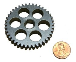 AndyMark 40 Tooth 20 DP Steel Spur Gear with 3//8 Hex Bore