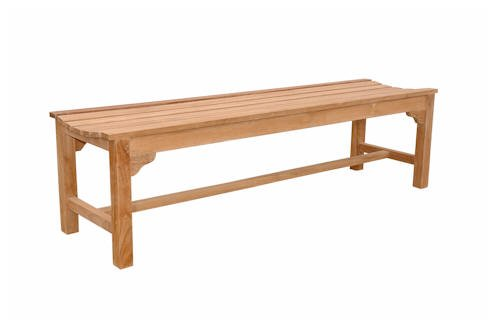 Anderson Teak Classic 3-Seater Bench - Unfinished