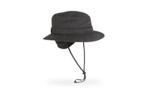 Sunday Afternoons Men's Alpine Fedora Hat, Obsidian, Large