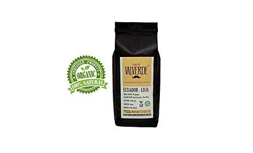 CAFÉ VALVERDE (VILCABAMBA) LOJA–ECUADOR, 100% ARABICA WHOLE BEAN COFFEE (HALF KILO 17,63 OZ.) – MEDIUM / DARK ROAST - SPECIALTY COFFEE SINGLE ORIGIN - HIGH ALTITUDE. ORGANIC