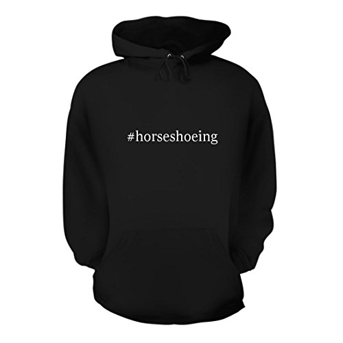 #horseshoeing - A Nice Hashtag Men's Hoodie Hooded Sweats...
