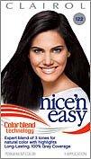 Nice Colour (Nice & Easy Hair # 122 Size 1 Kit Clairol Nice & Easy Hair Color Treatment #122)