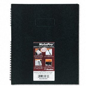 - Rediform A10150SBLK Note pro Business notebooks, 9-1/8 x 11, 150 Pages, Ruled, hardcover