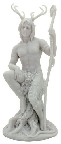 Archer Statue (10.5 Inch English Folklore Herne the Hunter Figurine Statue Ghost Forest Archer Celtic)