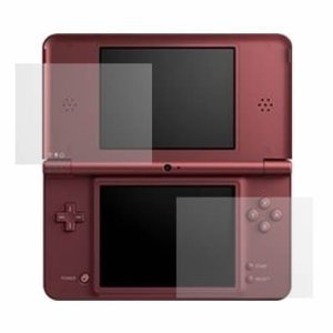 Top LCD, and Bottom Touchscreen LCD Screen Protector for Nintendo DSi XL [2 LCD Kit] with Lint-free Cleansing Cloth (Nintendo Dsi Screen)