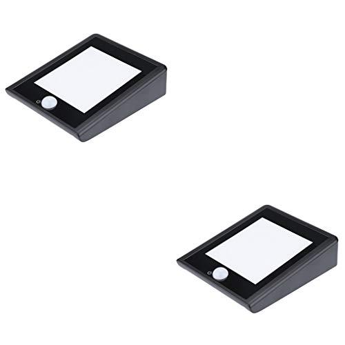 (Blingdots New Solar Light Outdoor Waterproof Motion Sensor Wall Lamp Bright Wireless 30LED IP 65 Waterproof Rating)