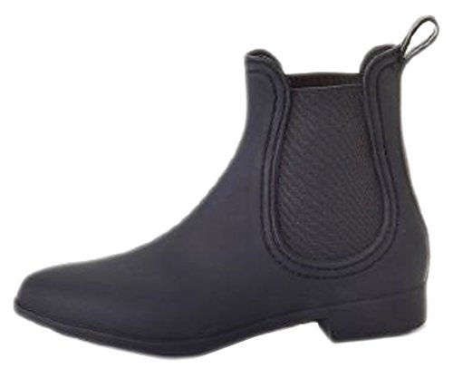 Henry Ferrera Womens Clarity Waterproof Rain Boots (8 B(M) US Black)