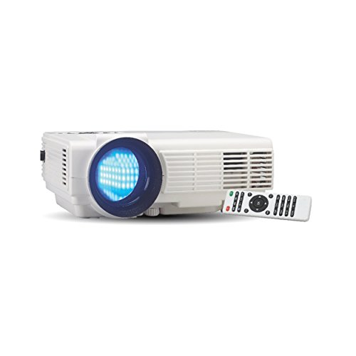 RCA RPJ116 2000 LUMENS Home Theater Projector 1080P HDMI (Renewed)