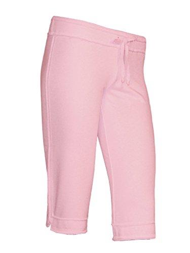 Kavio! Junior Raw Edge Capri Pant Baby Pink S