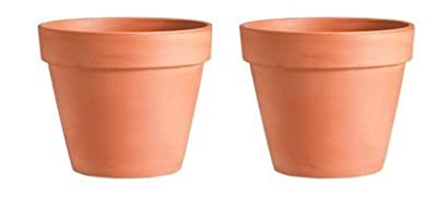 2 Pack - 3.5 Terra Cotta Clay Pots by Greenbrier