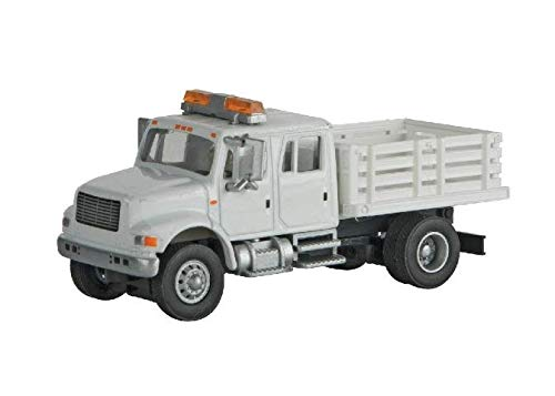 INTERNATIONAL(R) 4900 CREW-CAB OPEN STAKE-BED UTILITY for sale  Delivered anywhere in USA