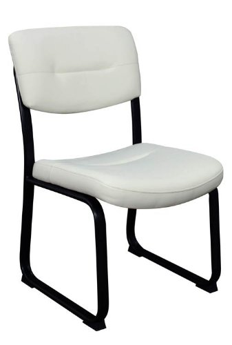 (Guest Chair, Series Crusoe Leather Black)