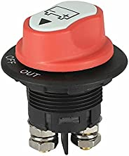 heyaa Interruptor de desconexão da bateria-100A Interruptor de desconexão da bateria desconecta o corte de ene