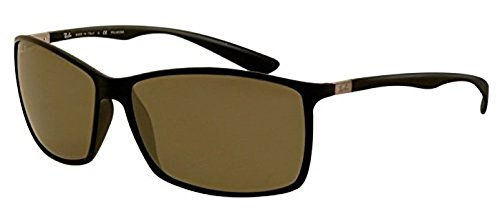 Ray-Ban Liteforce RB 4179 Sunglasses Matte Black / Green Polarized 62mm & HDO Cleaning Carekit - Liteforce Rb