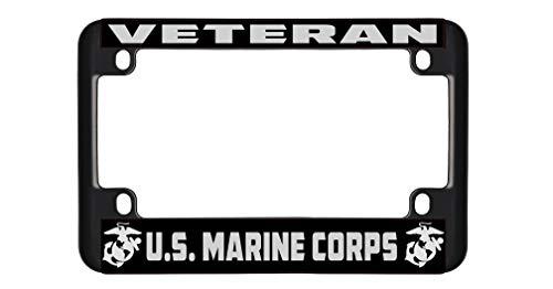 New Custom Auto Tag Veteran U.S. Marine Corps