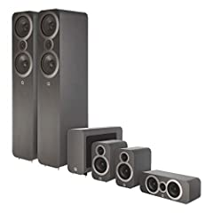Natural Dialogue to Explosive Sound The 3050i Series 5.1 Cinema Pack will unleash the full potential of your home cinema electronics. Its exquisitely detailed sound will convey all the atmosphere, natural dialogue and, when required, the full...