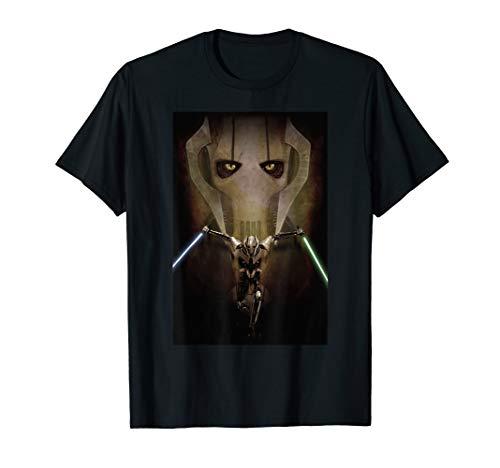 - Star Wars Episode III General Grievous Poster T-Shirt