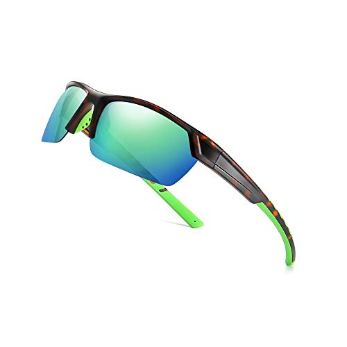 72049a683a6c SUNGAIT Polarized Sports Sunglasses for Cycling Fishing Driving UV  Protection