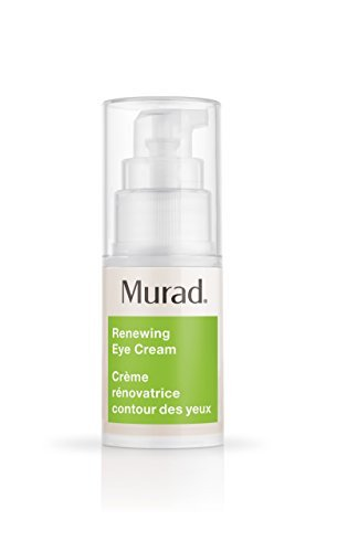 (Murad Resurgence Renewing Eye Cream - Step 2 Treat/Repair (0.5 fl oz), A Multi-Action Anti Aging Cream with Eye Brightening Complex, Visibly Minimizes Wrinkles with Advanced Peptides and Retinol)