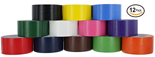 Ram-Pro Colored & Fluorescent Styles Heavy-Duty Duct Tape |