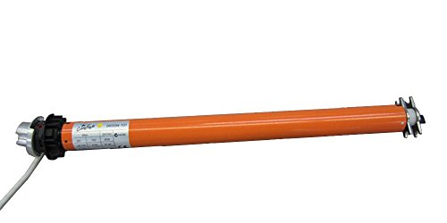 Awning Door Roller (Carefree R001531 Marquee Over the Door and Window RV Awning 12V Tubular Motor with 2-Slot Roller)