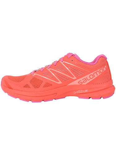 Pro Coral de Poppy 2 Trail Running para Sonic Zapatillas Living W Mujer Rojo Salomon Red Violet Rose SqUBw5xgTa