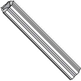 4-6X1 Fluted Plastic Anchor Ductile Plastic, Pkg of 1000