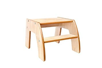 Little Helper FunStep Toddler u0026 Child Safety Step Stool (Maple) by Little Helper  sc 1 st  Amazon.com & Amazon.com: Little Helper FunStep Toddler u0026 Child Safety Step ... islam-shia.org