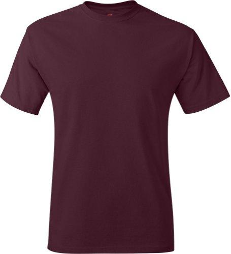 Manica Granata nbsp;rif shirt Hanes A 5170 50 Corta 50 T Za6atwWqzp