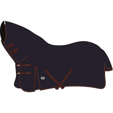 JHL TURNOUT RUG HEAVYWEIGHT COMBO NAVY/BURGUNDY - 6' 9' - JHL887247