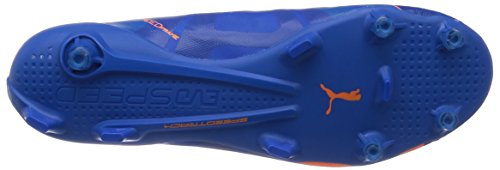 Puma evoSPEED SL H2H FG soccer shoes Football Men 103725 01 leightweight orange clown fish-electric blue lemonade