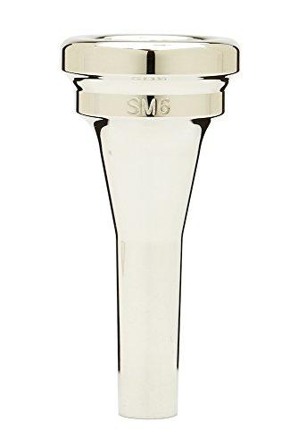 Denis Wick DW5880E-SM6 Silver-Plated Euphonium Mouthpiece, Steven Mead model