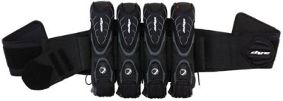 Dye Precision Assault Pack 4+5 Pod Paintball (4 Pod Paintball Harness)