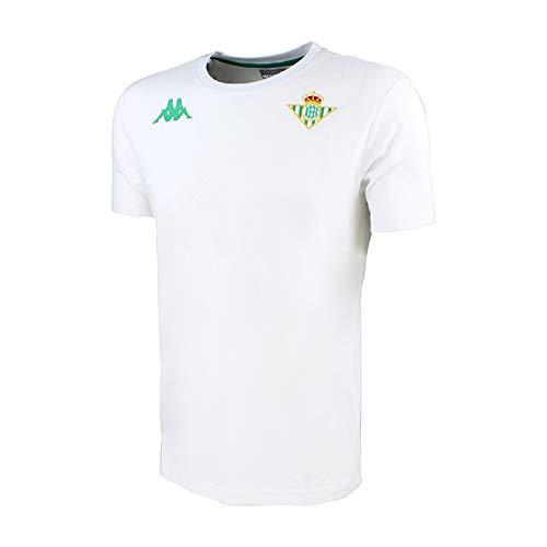 los Angeles gran variedad de estilos como serch Camiseta de algodón de manga corta - Real Betis Balompié 2018/2019 - Kappa  Zoshim Tee - Blanca - Niño
