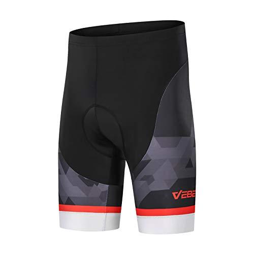 VEBE Men's Cycling Shorts 3D Gel Padded Mountain Bike Bicycle Biking Tight-Fitting Riding Pants …