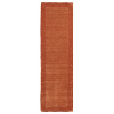 (Regency Pumpkin Rug Rug Size: Runner 2'6