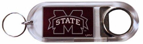 NCAA Mississippi State Bulldogs Keychain Lucite Bottle Opener