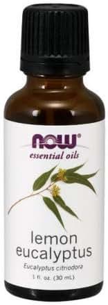 Now Foods Essential Oils Lemon Eucalyptus 1 fl oz 30 ml