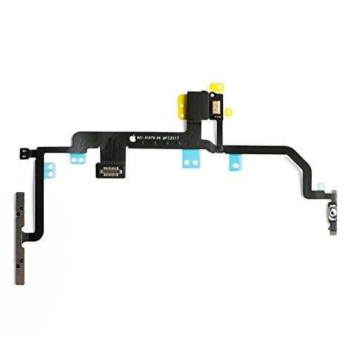 Afeax Compatible Volume Button Silent Power Switch Flex Cable Replacement for iPhone 8 Plus (5.5 inch)