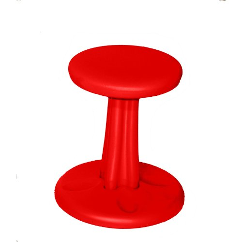 KORE DESIGN KIDS KORE WOBBLE CHAIR 14IN RED (Set of 3)