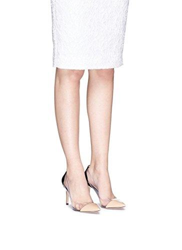 Läpinäkyvät Luistaa Pumput Glitter Piikkikorko Naisten 80mm Kengät Vivikiki Nude Teräväkärkiset FxnW7gXWqw